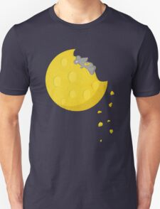 """""""If I could take a mouse to the moon…"""" Unisex T-Shirt"""