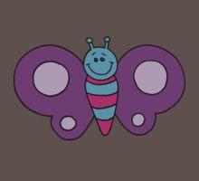 Fluttery Butterfly Baby Tee