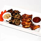 Off the grill wings and chops by Vanessa Pike-Russell
