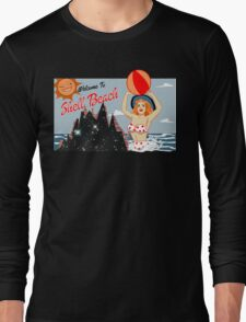Dark City Shell Beach Long Sleeve T-Shirt