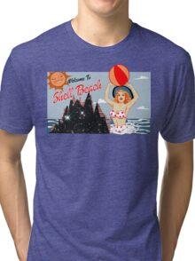 Dark City Shell Beach Tri-blend T-Shirt