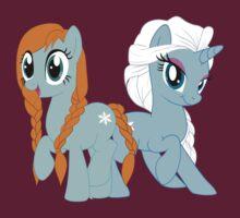 Elsa and Anna Ponies by Ashley Krauss