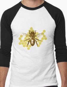 Bumble Hive Men's Baseball ¾ T-Shirt