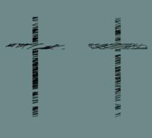 Scribbles en Crosse Sticker