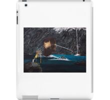 The projection of thought and mind on reality iPad Case/Skin