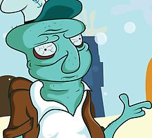 Squidward Tentacles by baghead