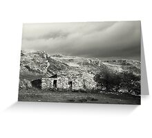 Stone hut, rural Ireland Greeting Card