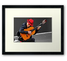 His own reality... Framed Print