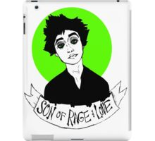 Son of Rage and Love iPad Case/Skin