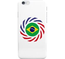 Brazilian American Multinational Patriot Flag Series iPhone Case/Skin
