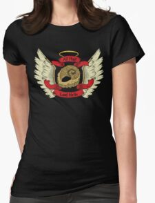 Hail Lord Helix Womens Fitted T-Shirt
