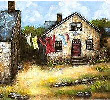 Mill Houses by Pamela Plante