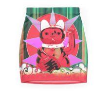 lucky cat Mini Skirt