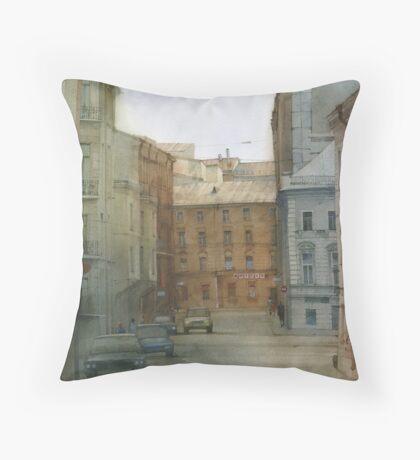 St. Petersburg' street Throw Pillow