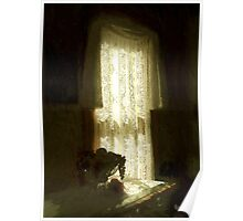 Sunlight Through Lace Poster