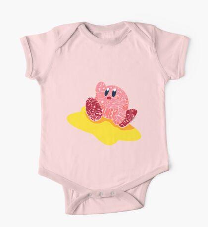 Kirby Bits One Piece - Short Sleeve