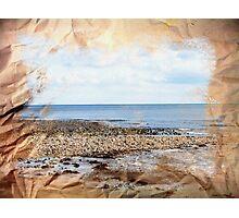 Watercolour Sea Photographic Print