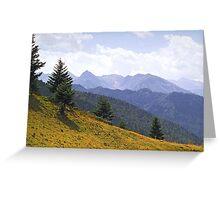 Ariége Pyrenées 3 Greeting Card