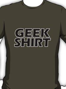 Geek Shirt Black T-Shirt