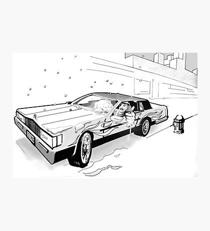 Brooklyn Cadillac Photographic Print