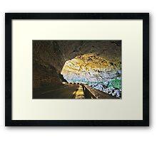 Grotte du Mas d'Azil Framed Print