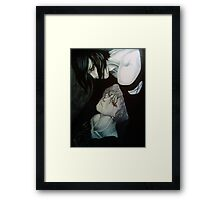 Protector of the damned  Framed Print