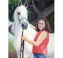 Arabian Youth Halter Class Winner Portrait Photographic Print
