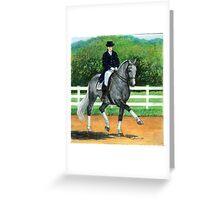 Belgian Warmblood Horse Portrait Greeting Card
