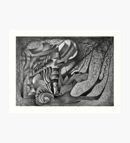 The Farrier. Art Print