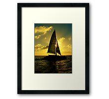 Sea Cruise Framed Print