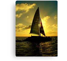 Sea Cruise Canvas Print