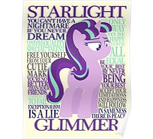 The Many Words of Starlight Glimmer Poster