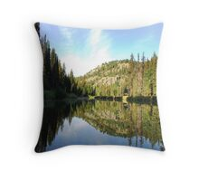 Morning on Upper Payette River Throw Pillow