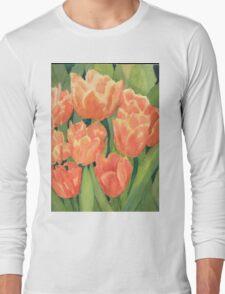Citrus Tulips  Long Sleeve T-Shirt