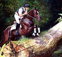 Trakehner Eventing Horse Portrait by Oldetimemercan