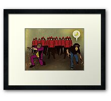 As Their Numbers Grew In Size It Became Obvious To Us All Exactly What They Were After Framed Print