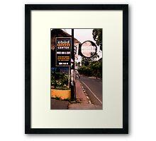 Ubud Fitness Centre, Ubud, Bali Framed Print