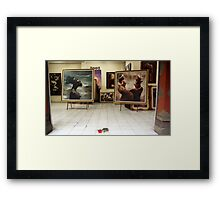 Art Gallery, Ubud, Bali Framed Print