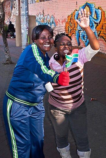 Happy Birthday Nelson Mandela - Viva South Africa by RatManDude
