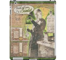 Popular Science: Marie Curie (distressed) iPad Case/Skin