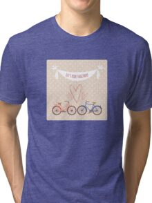 Bike lovers. Tri-blend T-Shirt
