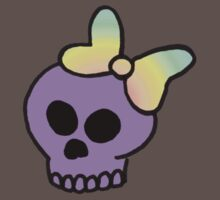 Girly Skull One Piece - Short Sleeve
