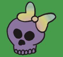 Girly Skull Kids Tee