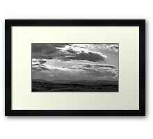It's Raining Over There Framed Print
