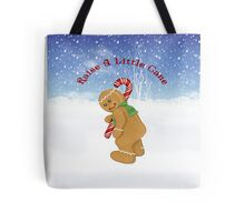 Gingerbread Raise A Little Cane Tote Bag