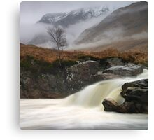 Glen Etive Canvas Print