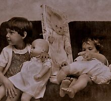 When dolls were all they wanted ... by Erika Gouws