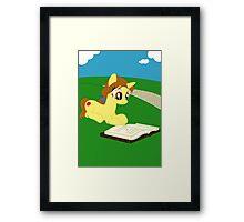 Pony Belle Framed Print
