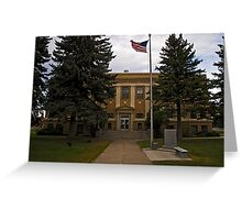 Powell County Court House Greeting Card