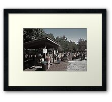 Burt's Pumpkin Patch Framed Print